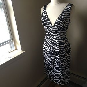 Bebe zebra dress